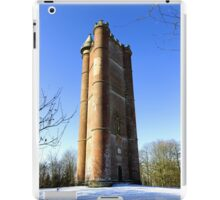 King Alfred's Tower, Stourton, Wiltshire, United Kingdom. iPad Case/Skin