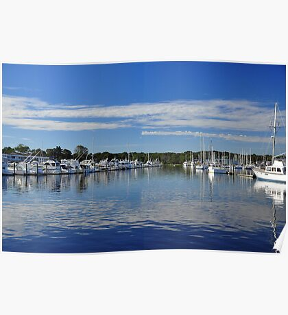 Harbor View at Wickford  Poster