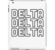 Delta Delta Delta iPad Case/Skin