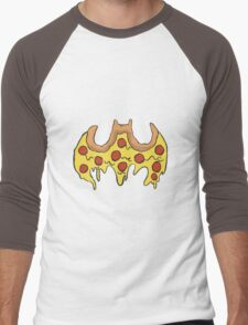 Batman Pizza Men's Baseball ¾ T-Shirt
