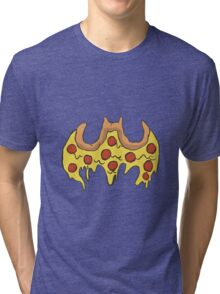 Batman Pizza Tri-blend T-Shirt