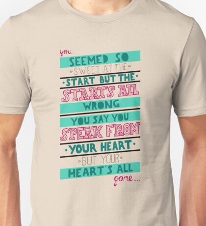 Hearts All Gone (part 2) Unisex T-Shirt