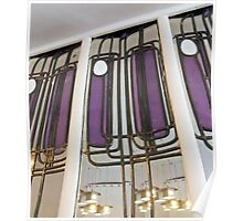 Mackintosh Reflections - The Willow Tearoom, Glasgow Poster