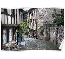 Dinan, Brittany, France Poster
