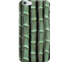 Green Bamboo iPhone Case/Skin