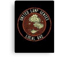 United Lamp Genies Canvas Print