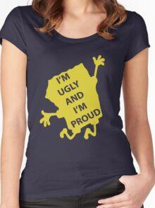 Spongebob - Ugly & Proud Women's Fitted Scoop T-Shirt