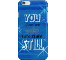 Time standing still iPhone Case/Skin