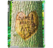 maria marry me iPad Case/Skin