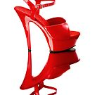 Red Heel by Leroy Dickson