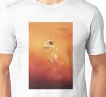 Astronaut in a Dust Storm Unisex T-Shirt