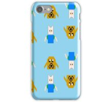 Pixel Jake And Finn iPhone Case/Skin