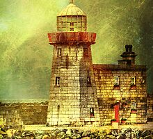 iPhone cover - lighthouse by Luisa Fumi