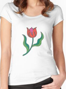 Tulip - Think Spring Women's Fitted Scoop T-Shirt