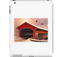 """Snow Covered Bridge"" iPad Case/Skin"