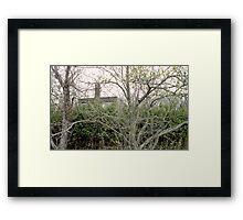 Cross Over Taken Framed Print