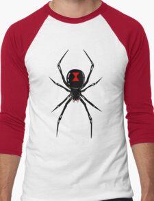 Black widow spider Men's Baseball ¾ T-Shirt