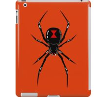 Black widow spider iPad Case/Skin