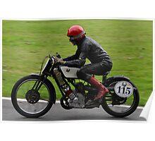 Scott ridden by Bill Swallow Poster