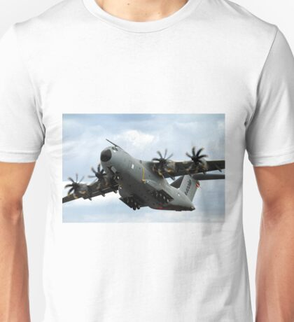 Airbus Military A400M Demonstrator EC-402 Aircraft Unisex T-Shirt