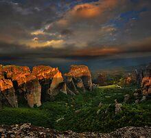 Meteora by Peter Hammer