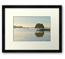 Salix Babylonica - Weeping Willow | Water Mill, New York  Framed Print