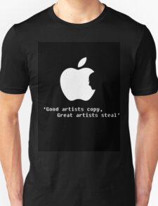Apple Artists Think Differently   T-Shirt