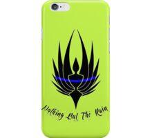 LEO support Nothing But The Rain iPhone Case/Skin