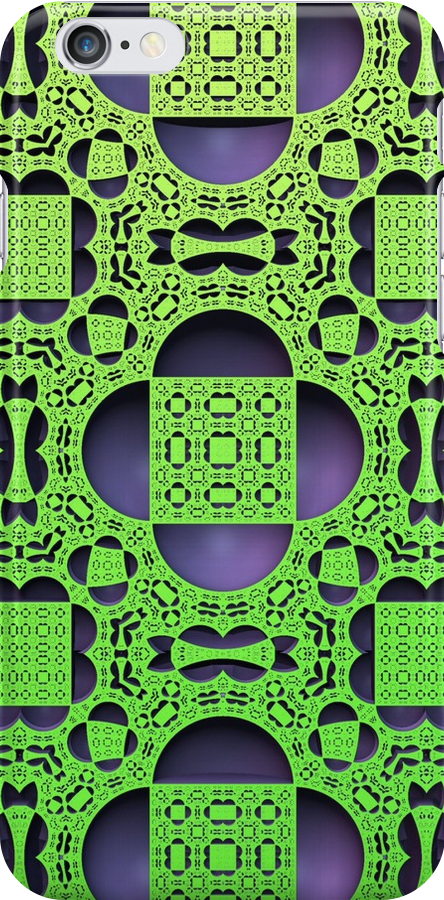 Green & Purple for iPhone by Lyle Hatch