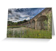 Coalbrooke dale aquaduct, Telford Shropshire Greeting Card