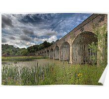 Coalbrooke dale aquaduct, Telford Shropshire Poster