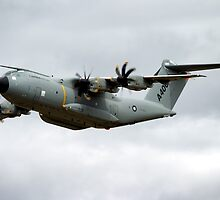 Airbus Military A400M demonstrator EC-402 aircraft by Andrew Harker