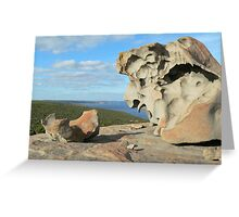 Remarkable Rocks on Kangaroo Island Greeting Card