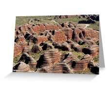 Bungle Bungles in Purnululu National Park Greeting Card
