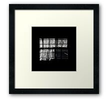 Sunrise of lace decaying Framed Print