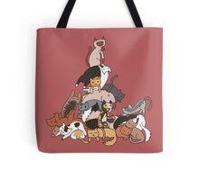 Cat tower Tote Bag