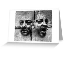 Split Personality  Greeting Card