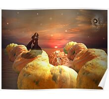 Pumpkins On Parade Poster