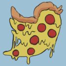 Twitter Pizza by Daebak