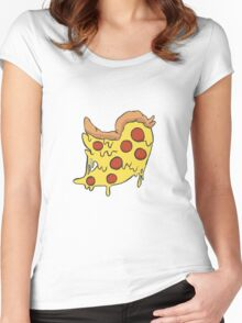 Twitter Pizza Women's Fitted Scoop T-Shirt