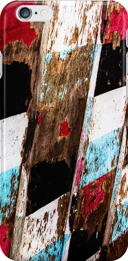 Peeling Paint - iPhone Case by Leon Ritchie