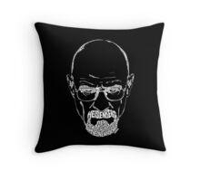 Heisenberg | Walter White from Breaking Bad White Throw Pillow