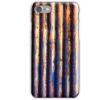 Corrugated Iron Vertical iPhone Case/Skin