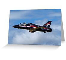 Royal Air Force BAe Systems Hawk T1 Greeting Card