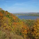 Autumn on the Mississippi  by lorilee