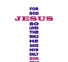 John 3:16 (iPhone case) by Donna Keevers Driver