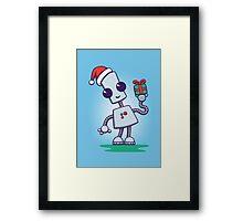 Ned's Christmas Framed Print