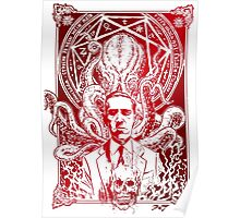 Cthulhu Howard Phillips Lovecraft HP historical society Poster