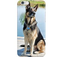 German Shepherd (iPhone case) iPhone Case/Skin