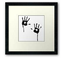 Hands On! Framed Print